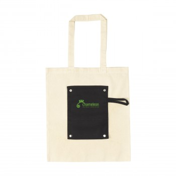 Foldy Cotton opvouwbare tas
